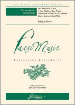 Locatelli P.a. - Sei Sonate A Tre Op.v, Opera Quinta S.d., C - Fac-simile Fuzeau