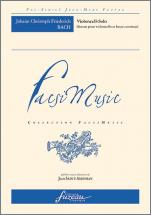 Bach J.c.f. Violoncell-solo, Sonate Pour Violoncelle Et Basse Continue - Fac-simile Fuzeau