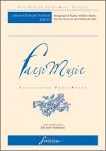 Bach J.c.f. - Sonata Per Il Flauto, Violino E Basso - Fac-simile Fuzeau