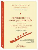 Portell P. - Mnemosis - Repertoire De Musique Imprimee (1670-1780)