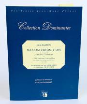 Baston J. - Six Concertos (1729) In Six Parts For Violins And Flutes (1611) - Fac-simile Fuzeau
