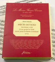Marais M. - Pieces De Viole, Troisieme Livre - Fac-simile Fuzeau