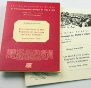 Bacilly B. - Les Trois Livres D'airs Regravez De Nouveau En Deux Volumes - Seconde Partie