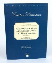 Kuhnel A. - Sonate O Partite Ad Una O Due Viola Da Gamba Con Il Basso Continuo - Fac-simile Fuzeau