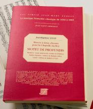 Lully J.b. - Motets A Deux Choeurs Pour La Chapelle Du Roy, De Profundis - Fac-simile Fuzeau