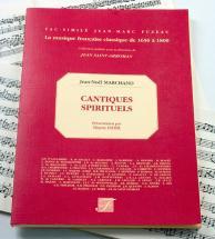 Marchand J.n. - Cantiques Spirituels - Violon, Flute, Voix, Basse Continue - Fac-simile Fuzeau