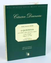 Soler P.a. - 6 Quintetos Opbra 1° (1776) - Fac-simile Fuzeau