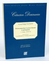 Telemann G.p. - Harmonischer Gottes-dienst, Cantates Vol.1, 1725-1726 - Fac-simile Fuzeau