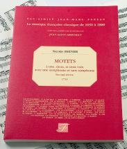 Bernier N. - Motets A 1, 2 Et 3 Voix, Second Oeuvre, 1713 - Fac-simile Fuzeau