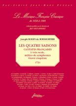 Boismortier J. Bodin De - Les Quatres Saisons, Cantates Francaises - Fac-simile Fuzeau