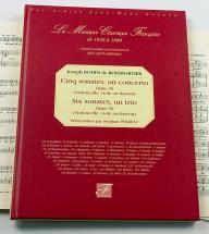 Boismortier J. Bodin De - Cinq Sonates, Un Concerto, Op 26 - Six Sonates Trio, Op 50 - Fac-simile
