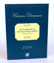 Liszt F. - Huit Variations Pour Le Piano-forte Opus I, 1824 - Fac-simile Fuzeau