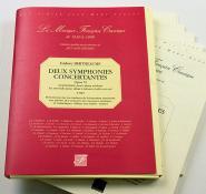 Bertheaume I. - Deux Symphonies Concertantes Opus Vi - Fac-simile Fuzeau