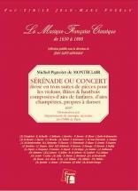 Monteclair M.p. De - Serenade Ou Concert, Divise En Trois Suites - Fac-simile Fuzeau