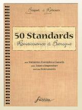 50 Standards, Renaissance Et Baroque Pour Tous Instruments - Version Francaise
