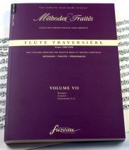 Biget A./giboureau M. - Methodes Et Traites Flute Traversiere Vol.7 Serie Ii, France 1800-1860