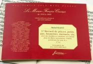 Blavet M. - 1er Recueil De Pieces, Petits Airs, Brunettes, Menuets, Etc. - Fac-simile Fuzeau