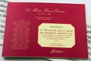Blavet M. - 2eme Recueil De Pieces, Petits Airs, Brunettes, Menuets, Etc. - Fac-simile Fuzeau