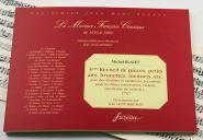 Blavet M. - 3eme Recueil De Pieces, Petits Airs, Brunettes, Menuets, Etc. - Fac-simile Fuzeau