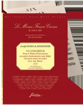 Boismortier J. Bodin De - Vi Concertos - 5 Flutes Ou Autres Instruments Sans Basse - Fac-simile