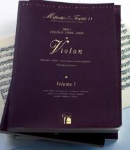 Lescat P./saint-arroman J. - Methodes Et Traites Violon 4 Volumes, Serie I France 1600-1800