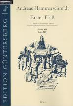 Hammerschmidt A. - Erster Fleiss - 15 Suites A 5 Voix - Suite Xii En Sol Et Suite Xiii En D
