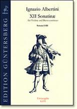 Albertini I. - 12 Sonaten Fur Violine Und B.c. (sonaten X-xii)