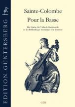 Sainte-colombe - Pour La Basse (manuscrit De Tournus) - Viole De Gambe