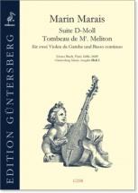 Marais M. - Suite G Major - Viole De Gambe