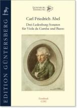 Abel C.f. - Drei Ledenburg Sonaten - Viole De Gambe Et Bc