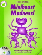 Campbell Debbie - Minibeast Madness! - Primary. Teacher's- Pvg