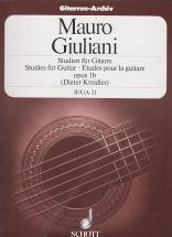 Giuliani Mauro - Etudes Vol.2 (op.1b)