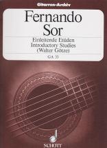 Sor Fernando - Einleitende Etüden Op.60