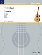 Turina Joaquin - Sonata Op.61 - Guitare