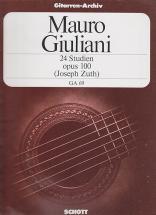 Giuliani Mauro - 24 Etudes Op.100 (zuth)