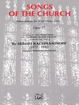 Rachmaninov Sergei - Songs Of The Church - Large-scale Choral Works (par 10 Minimum)