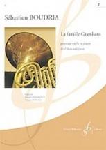 Boudria Sebastien - La Famille Guenharo Vol.2 - Cor and Piano