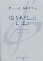 Beffa Karol - Six Nouvelles Etudes - Piano