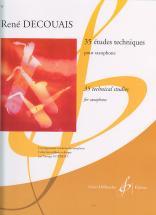 Decouais Rene - 35 Etudes Techniques - Saxophone