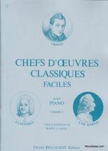Chefs D'oeuvres Classiques Faciles Vol.1 - Piano