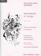Tavernier Jean-claude - 260 Exercices Et Etudes Pour Batterie Vol.2