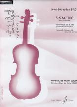 Bach J.s. - Six Suites Pour Alto Vol.2 Suites 4,5,6