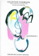 Divers Auteurs - Panorama Saxophone Volume 1 - Saxophone Mi B Et Piano