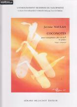 Naulais J. - Coconotes - Saxophone, Piano