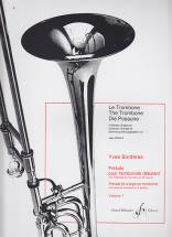 Borderes Y. - Prelude Pour Tromboniste Debutant - Vol. 1