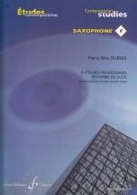 Dubois P.m. - 20 Etudes Progressives En Forme De Duos - Saxophone