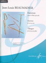 Beaumadier Jean-louis - Exercices - Flute Piccolo