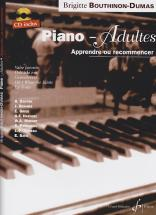 Bouthinon-dumas Brigitte - Piano Adultes Vol.1 + Cd