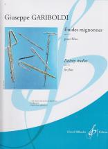 Gariboldi G. - Etudes Mignonnes Op.131 - Flute