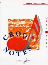 Jouve-ganvert Sophie - Croq'notes Cahier 3, 3e Annee